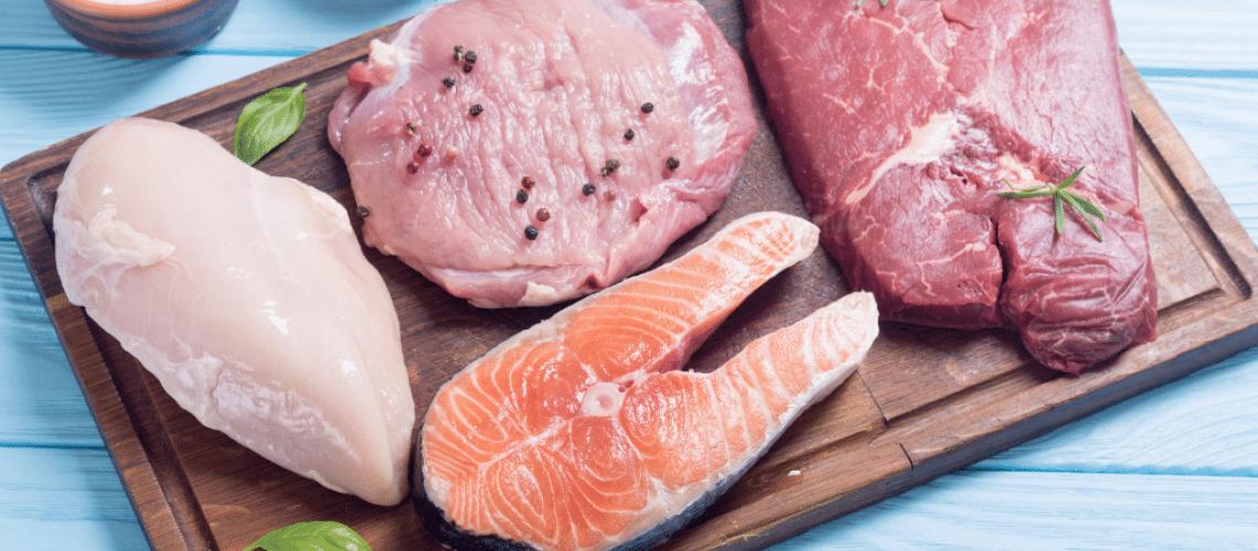 Diferenças nutricionais das carnes