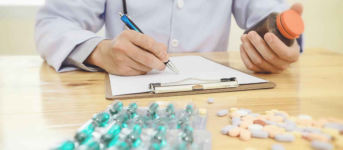 Prescrição e uso de suplementos nutricionais