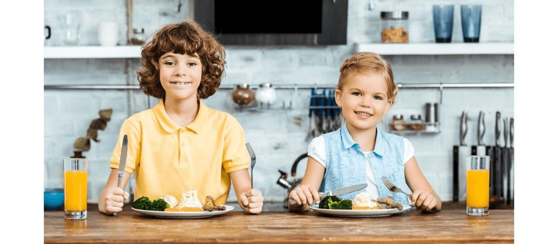 Alimentação Vegetariana para Crianças e adolescentes