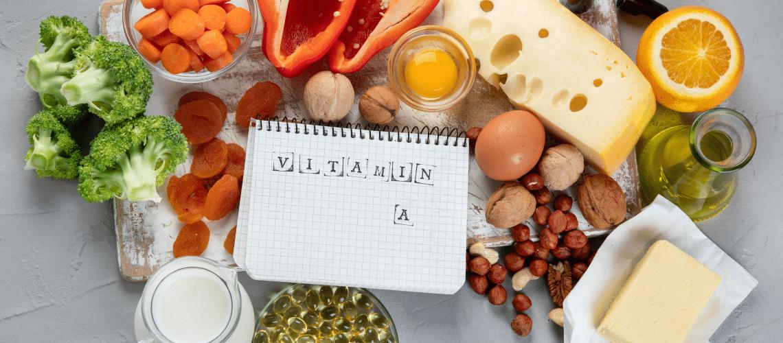 Quais são as funções da vitamina A?