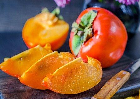 Caqui, uma fruta exótica de origem asiática